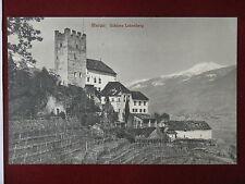 MERANO-Schloss Lebenberg-no viaggiata,anni 20#4531