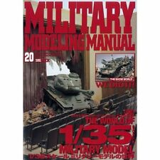 USED 1/35 AFV MODELS & DIORAMAS, MILITARY MODELING MANUAL BOOK VOL.20 FROM JAPAN