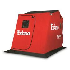 New Eskimo Sierra Thermal Ice Fishing Shelter, 2 Person, Quick Easy Setup, Red