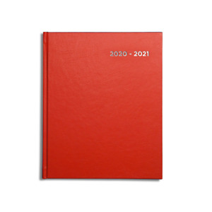 Pirongs 18 month Week-to-View 2020-2021 Academic Diary (Slightly wider than A5)