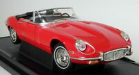 Road Signature 1/18 Scale 1971 Jaguar E-Type Roadster V12 Red Diecast Model Car