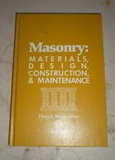 Special Technical Publications: Masonry : Materials, Design, Construction, and M