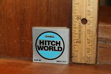 Vintage Racecar Automotive Gas and Oil U-Haul Hitch World