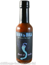 """Born to Hula"" Ghost of Ancho - VERY HOT Chilli Sauce!"