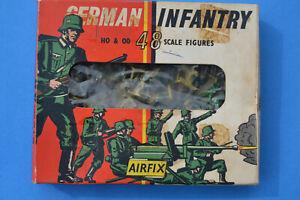 AIRFIX : German Infantry Soldats Allemagne boite avec 91 figurines et 3 armes -