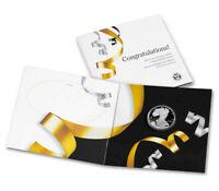 2021-W Proof $1 American Silver Eagle Congratulations Set Box OGP & COA