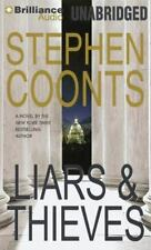 LIARS & THIEVES unabridged audio book on CD by STEPHEN COONTS - Brand New!