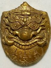 PHRA RAHU LP RARE OLD THAI BUDDHA AMULET PENDANT MAGIC ANCIENT IDOL#11