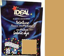 TEINTURE IDEAL TEXTILE TISSU VETEMENT SAHARA MARRON coton lin laine polyamide