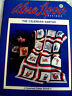 Alma Lynne Designs The Calendar Santa's Counted Cross Stitch Pattern Booklet  #