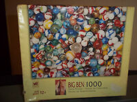 Marbles 1000 Piece Jigsaw Puzzle Big Ben