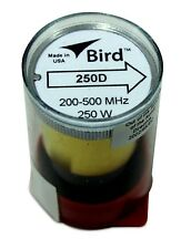 Bird 43 Wattmeter Element 250D 200-500 Mhz 250 Watts (New)