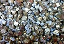 Lot of GOLDEN Pyrite Crystals Great for SPECIMENS, miniature DECORATIONS
