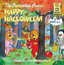 NEW - The Berenstain Bears Happy Halloween! (First Time Books(R))