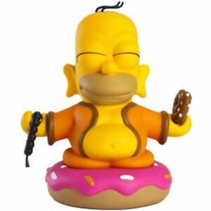 KidRobot Homer Simpson Buddha 7 inch Yellow Vinyl Figure NEW