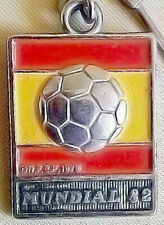 Keychain Key Ring Spain Espana Mundial 82 FIFA Football World Cup