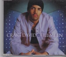 Craig David-Fill Me In cd maxi single 5 tracks