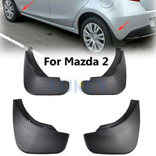 FIT FOR 2008-2013 MAZDA 2 DEMIO DE HATCHBACK MUD FLAPS SPLASH GUARDS MUDGUARDS