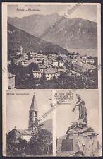 COMO LAINO 03 INTELVI - MONUMENTO ai CADUTI  - VEDUTINE Cartolina viaggiata 1923