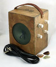 Cigar Box Guitar Effects Amplifier Amp with Built in Reverb