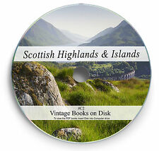 Rare Books on DVD  The Highlands & Islands of Scotland Clan History Jura Skye C2