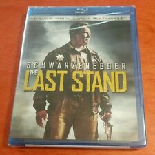The Last Stand Blu-ray Arnold Schwarzenegger Forest Whitaker Johnny Knoxville