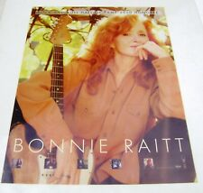 2000 Bonnie Raitt Rock N Roll Hall Of Fame Warner Brothers Promo Poster