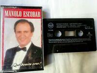 Manolo Escobar ¡ que bonita eres ! Cinta Cassette 1991 RCA Music Spanish