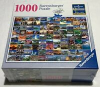 New Ravensburger 1000 Piece Puzzle 99 Beautiful Places On Earth