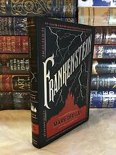 FRANKENSTEIN by MARY SHELLEY Leatherbound Soft Cover Collectible Edition NEW