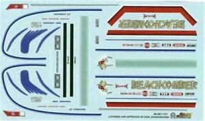 Slixx 1721 Beachcomber Monza F/C-Don Johnson drag decal