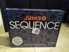 JUMBO SEQUENCE BOARD GAME NEW SEALED