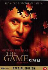 The Game (1997) Michael Douglas, Deborah Kara Unger DVD *NEW