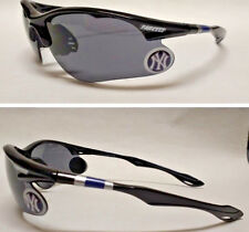 READ LISTING! New York Yankees XL 3D logo on BLACK Blade Sunglasses! Team Colors