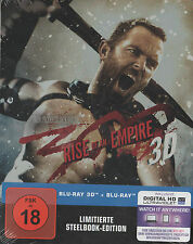 300 Rise of an Empire 3D, Blu Ray Limited Steelbook 2D + 3D, NEU & OVP