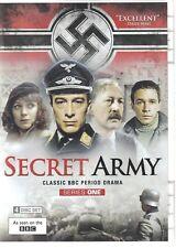 SECRET ARMY: Series 1 (DVD 2014 4-Disc Set) BBC PERIOD DRAMA (A1)