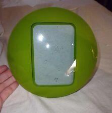 petit cadre photo portrait à poser verre bombé design moderne couleur vert