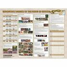 """AD MILITARY ADVICE SNAKES HORN OF AFRICA 12x16 """" POSTER ART PRINT HP3634"""