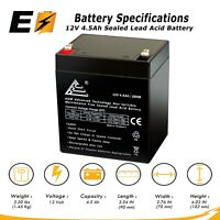 ExpertBattery 12V 4.5AH 12 Volt 4.5 Amp Hour Sealed Lead Acid (SLA) Battery