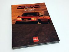 1996 GMC Sierra Brochure - French