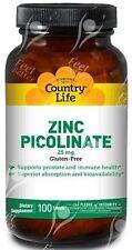 Vegan Zinc Tablets, 25mgx100;- INFERTILITY - SPERM COUNT