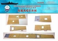 Shipyard 350006 1/350 Wood Deck IJN Akagi for Hasegawa