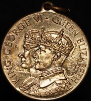 1937 | George VI & Elizabeth 'Rowntree's' Coronation Medal | Medals | KM Coins