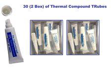 30 x grasso termico Incolla Tubo Composto PC CPU Processore Dissipatore di Raffreddamento