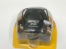 New Howard Leight R-01526 Impact Sport Elect. Earmuff Olive Green