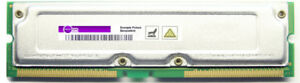128MB Toshiba Non-Ecc PC800 800MHz THMR1N8E-8 Rimm Memory Module