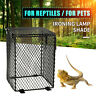 Reptile Basking Lamp Guard Bulb Cage Light Ceramic Vivarium Heat Safety Pet