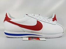 Nike Cortez Basic Leather OG FORREST GUMP RED WHITE BLUE 882254-164 sz 9.5
