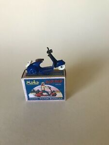 MOKO Matchbox Lesney Pop Pop Scooter with box