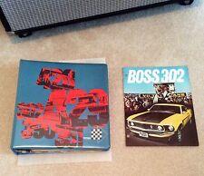 NOS Original 1969 Boss 302 Mustang color sales brochure only Rare showroom piece
